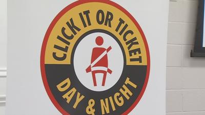 Kentucky police officers prepare for Click It or Ticket seat belt blitz