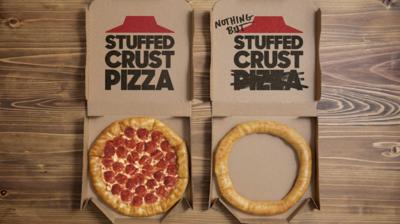 Pizza Hut Nothing But Stuffed Crust