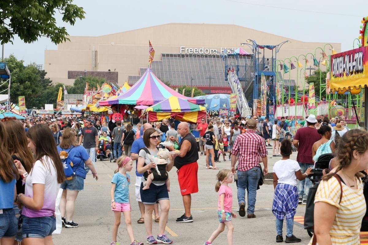 Kentucky State Fair Midway