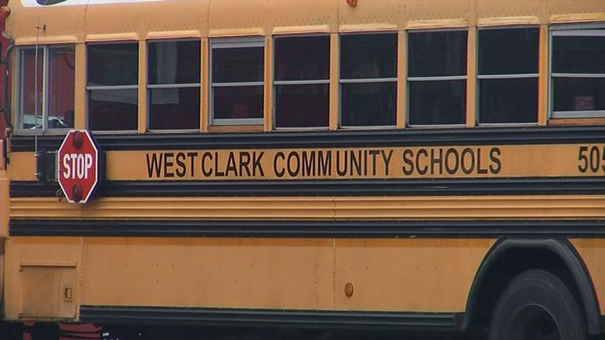 West Clark Community Schools bus