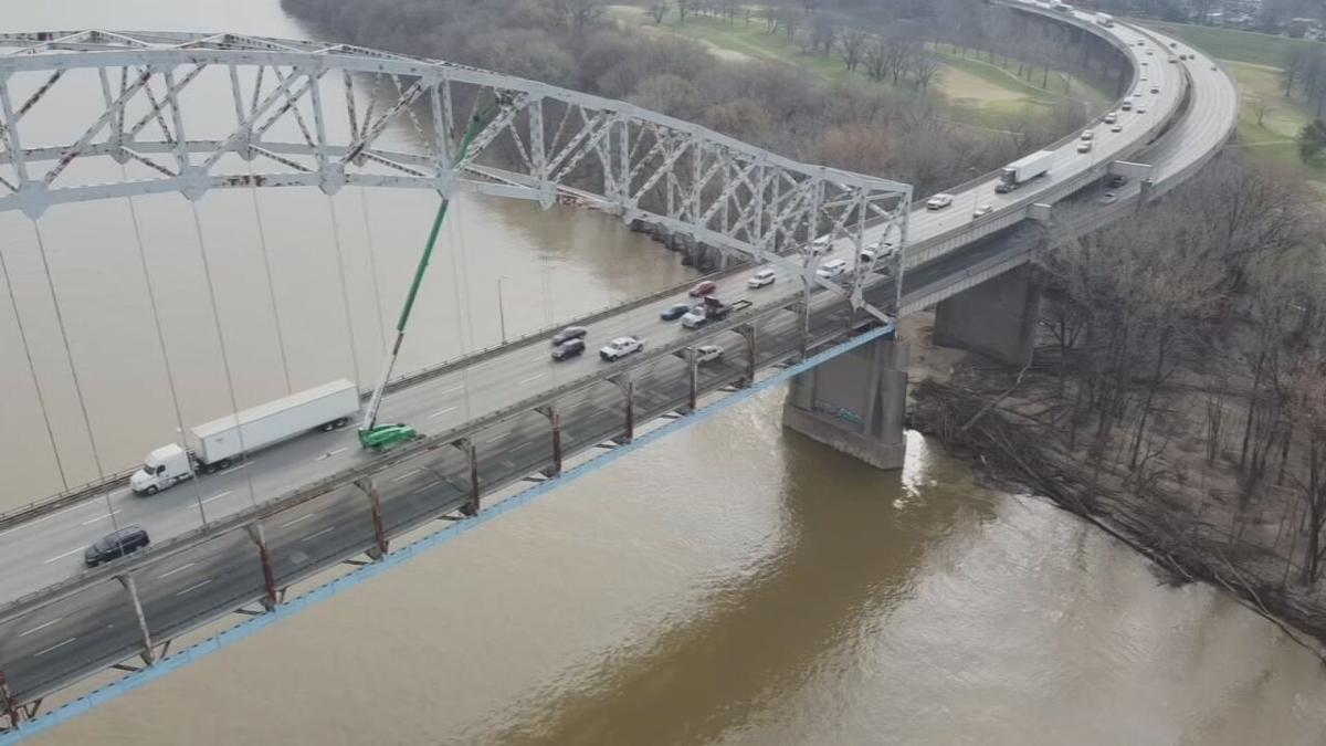 Sherman Minton bridge inspection