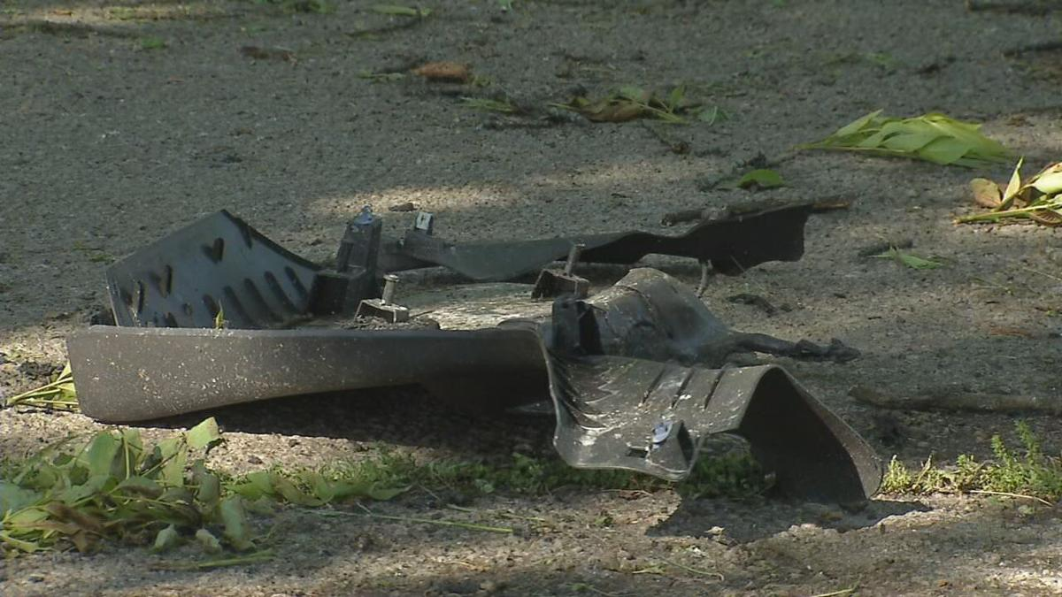 Debris on Eastern Parkway Fatal Crash