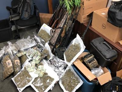 Grayson County man arrested after police find drugs, cash and guns