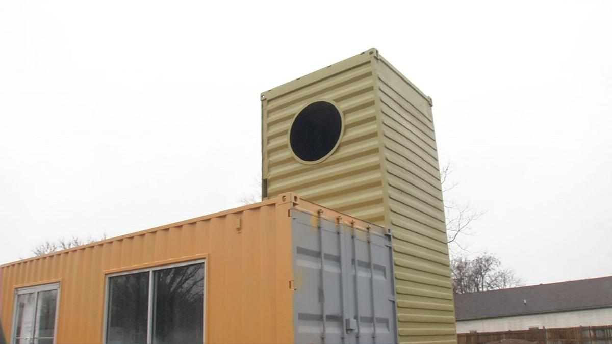 Russell Neighborhood Shipping Containers