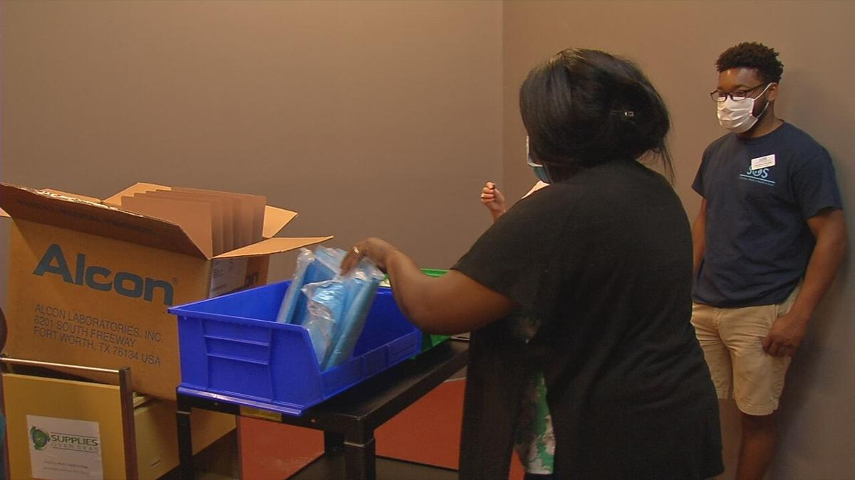 West Louisville's Healthcare Essentials Training Institute receives donation from SOS
