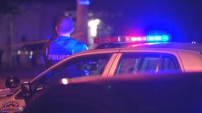 LMPD officer at crime scene (generic)