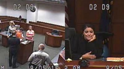 VIDEO | Jefferson County judge allows inmate to meet 1-month-old son for first time