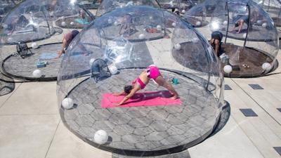 Yoga Geodisc Domes