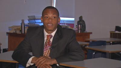 Moore High School senior preparing for graduation after persevering through troubled past