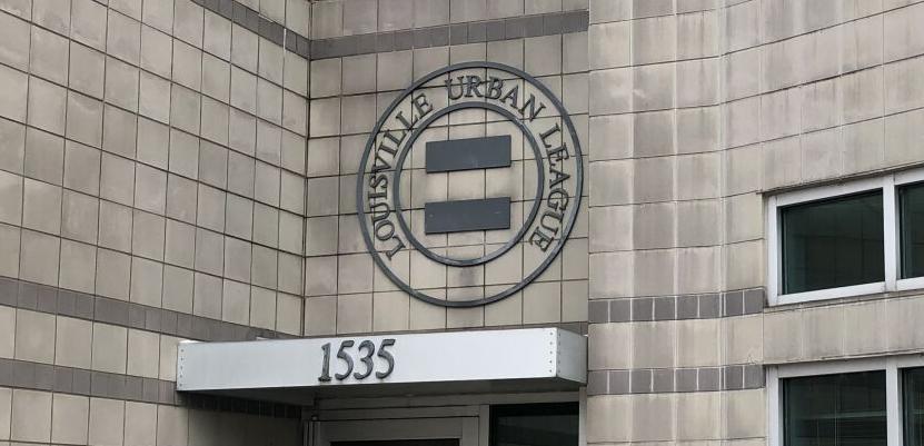 Louisville Urban League building entrance