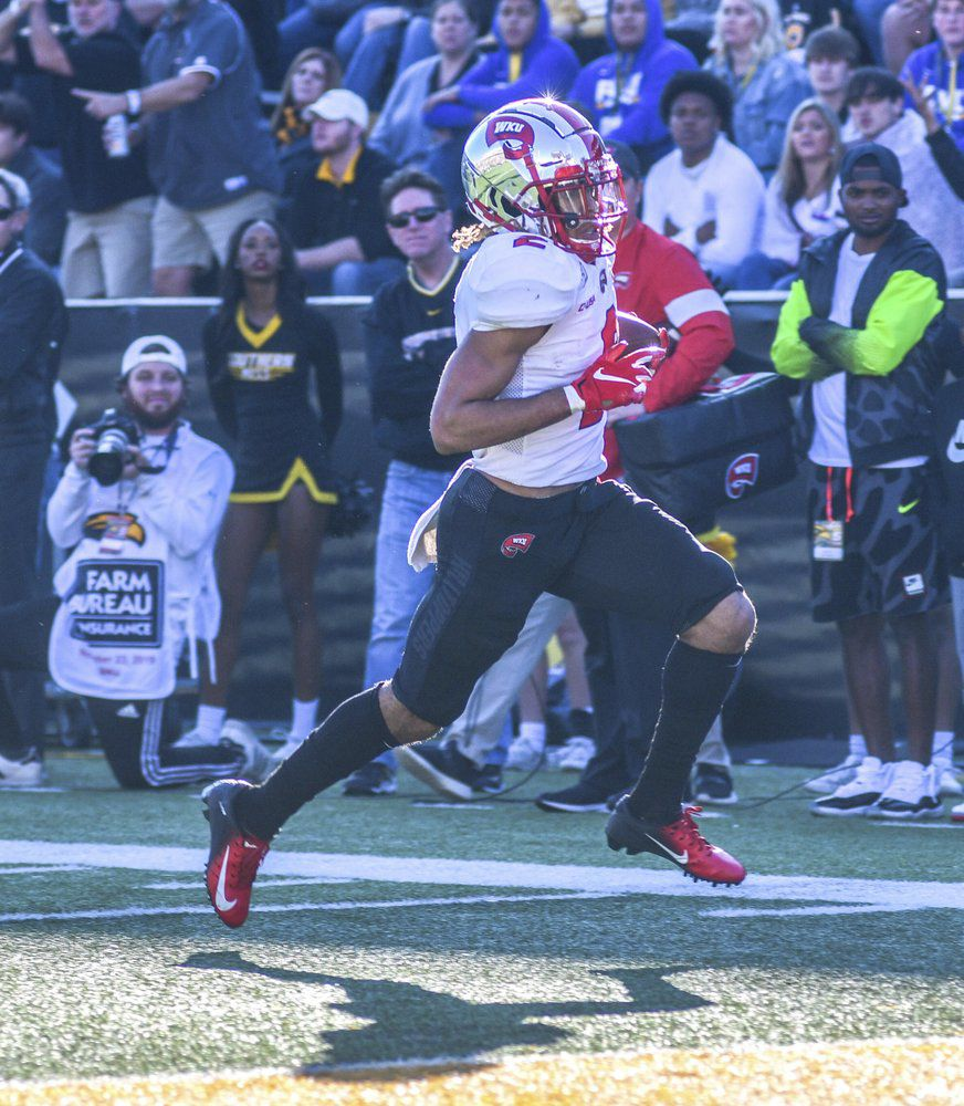 Western Kentucky wide receiver Jacquez Sloan