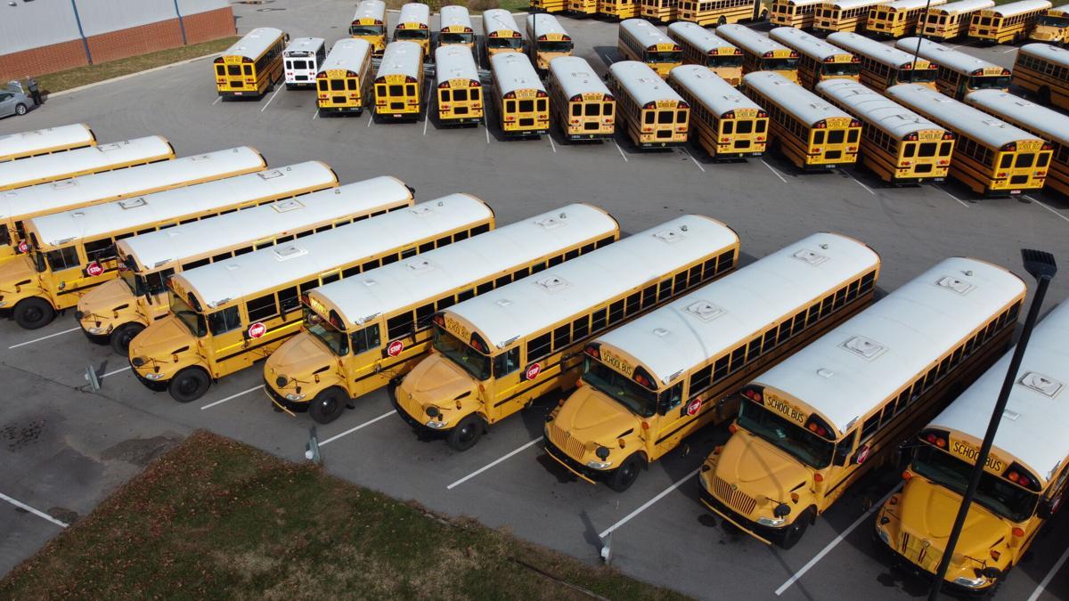 NAFC - NEW ALBANY FLOYD COUNTY SCHOOLS - BUSES - DRONE AERIAL 12-1-2020 .JPG