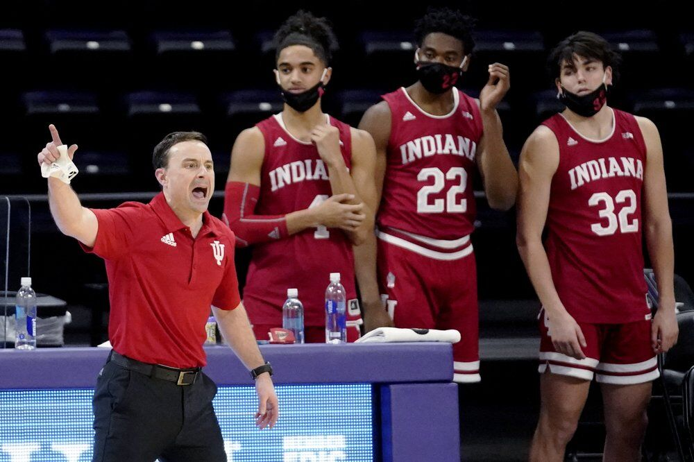 Indiana coach Archie Miller