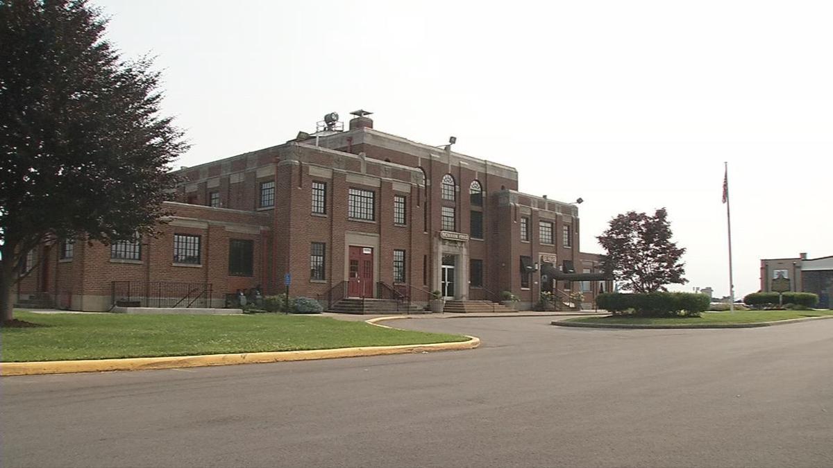 Bowman Field's historic terminal building