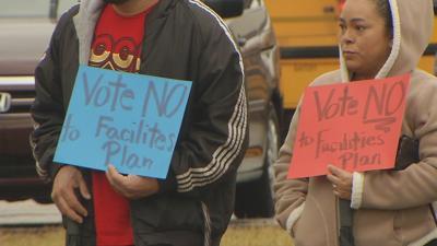Gilmore School Protest CU - 2-12-19
