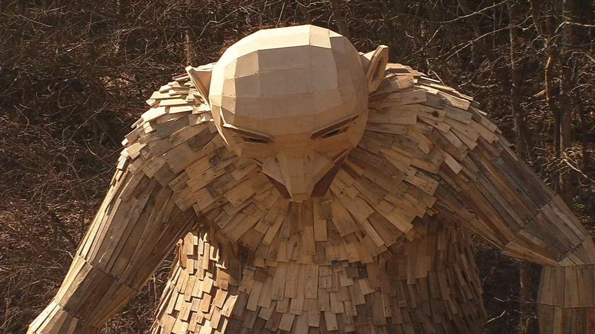 Bernheim Forest giants sculpture