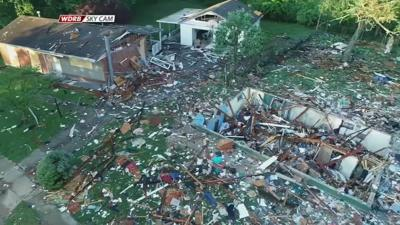 Jeffersonville House Explosion Drone New - 5-20-19