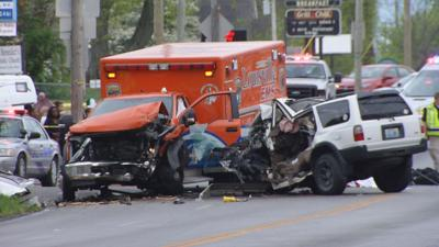 Fatal accident involves EMS ambulance and SUV