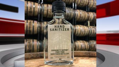 Lexington Brewing & Distilling Company hand sanitizer product