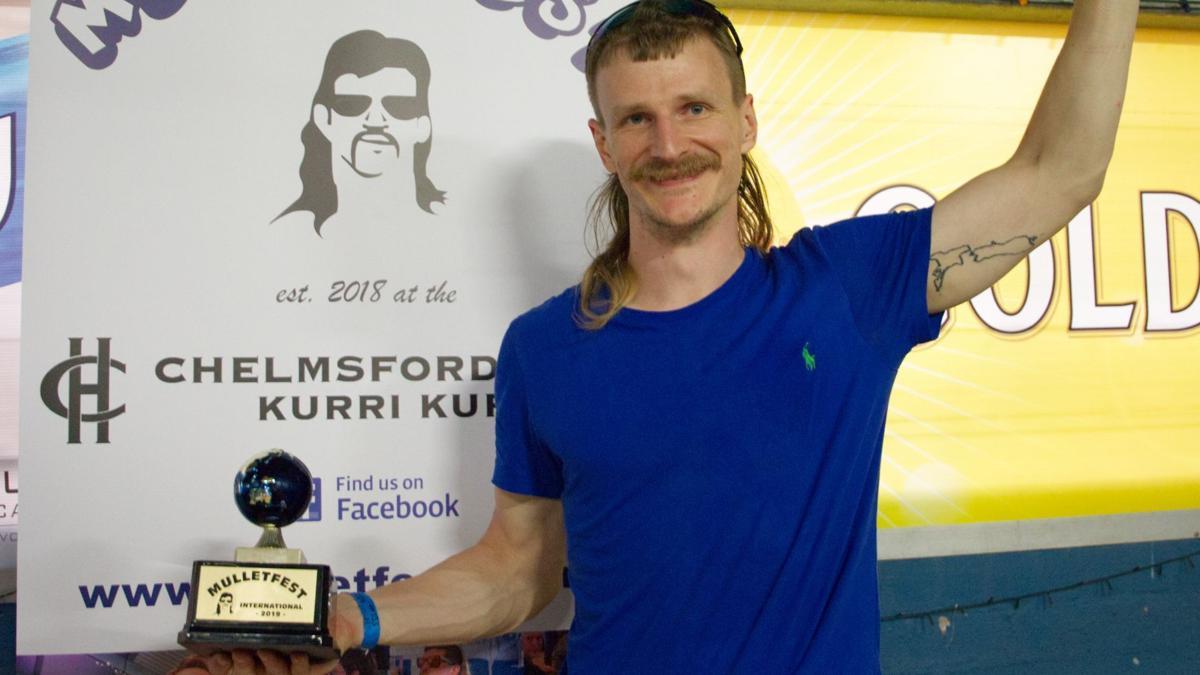 Rob Ayton - Mulletfest Winner