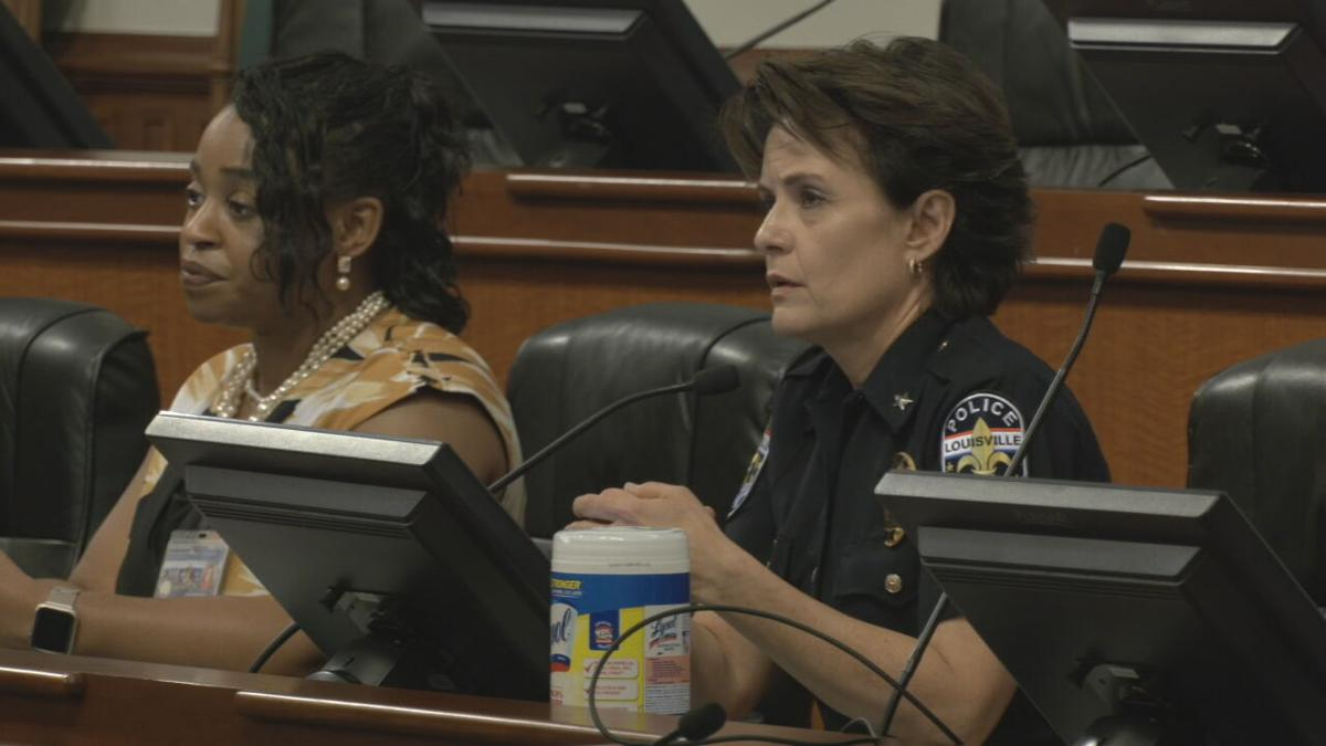 LMPD Chief Erika Shields during Metro Council testimony.jpeg