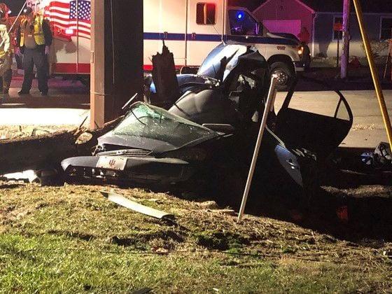 Blake Coombs crash (ISP photo)