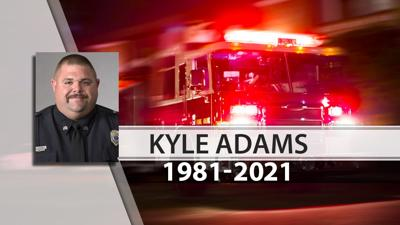 Sgt. Kyle Adams with the Fern Creek Fire Department
