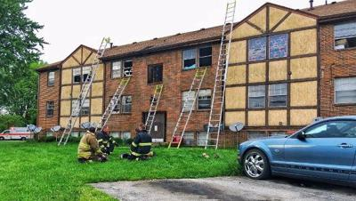 Fire displaces several families at apartment complex in Jeffersontown