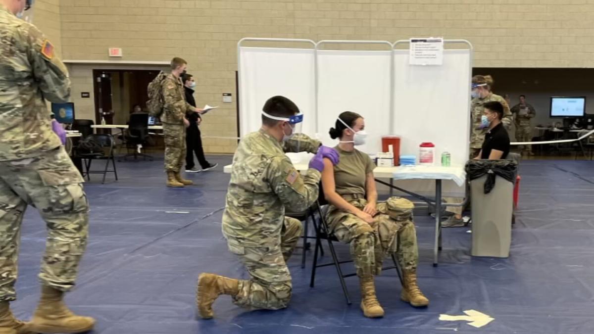 Indiana National Guard vaccine help