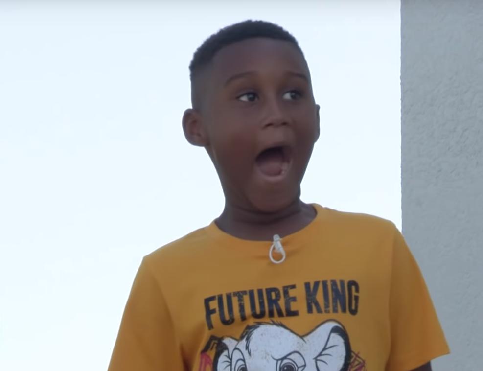 Disney Surprise - Jermaine Bell