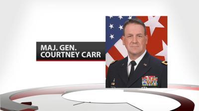 Major General Courtney Carr