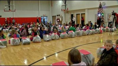 Christmas comes early for southern Indiana students in need