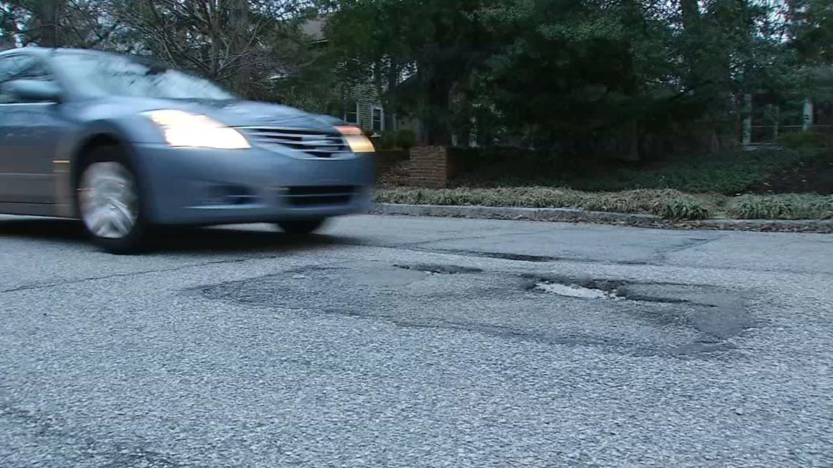 Potholes costing some Louisville drivers thousands of dollars in damage