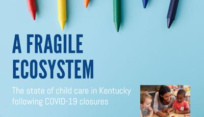 'A Fragile Ecosystem' - June 8, 2020 child care report cover