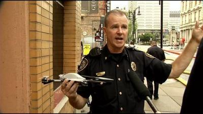 RAW VIDEO: Louisville Fire & Rescue using drones to help in fire fighting, search missions
