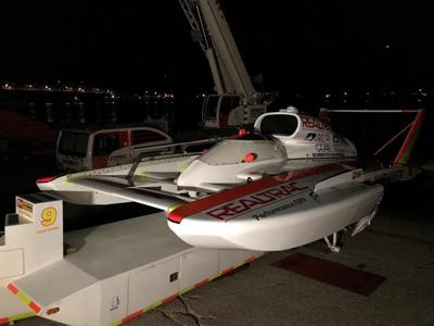 High speed hydroplane racing takes over Madison, Indiana