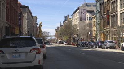 Main Street in downtown Louisville