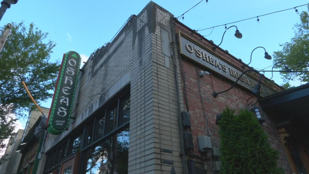 O'Shea's Irish Pub on Baxter Avenue in Louisville, Ky.