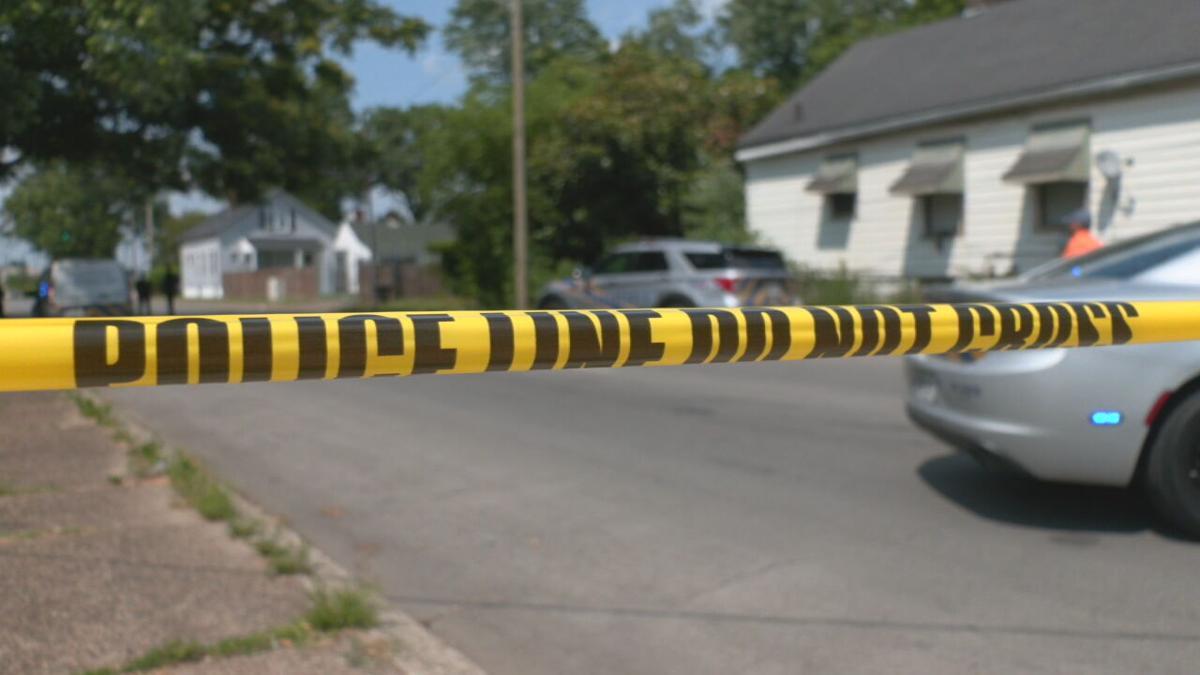 Louisville crime scene, June 2021