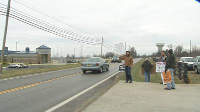 Local groups protest new jail in Oldham County