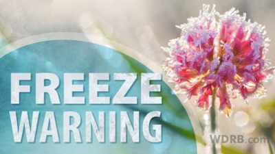 Changes Made To The Freeze Warning