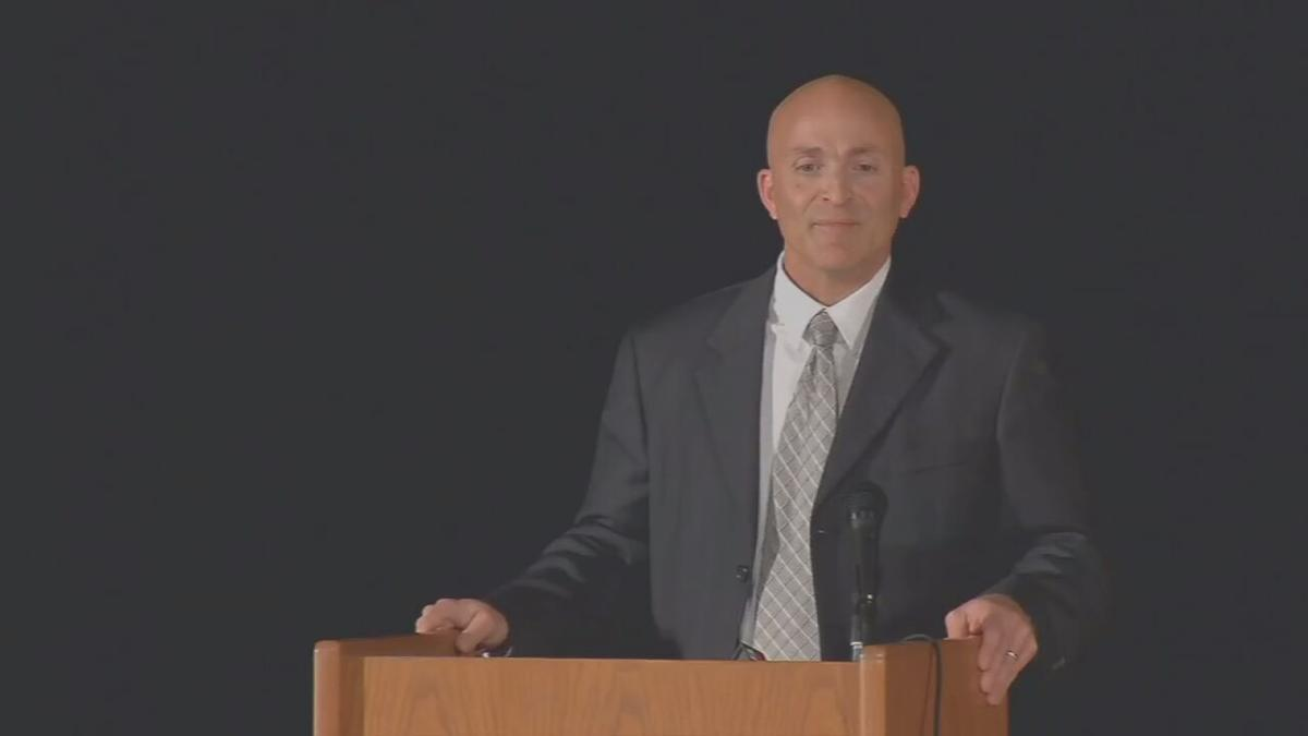 Boone County Schools Assistant Superintendent Jason Radford