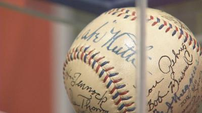 Legends Never Die exhibit debuts at Louisville Slugger Museum to celebrate 25th anniversary of 'The Sandlot'