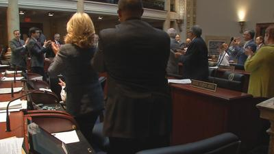 Standing ovation for school safety bill