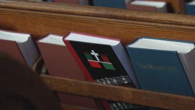 Inside St. Paul Episcopal Church in Jeffersonville (Church generic)