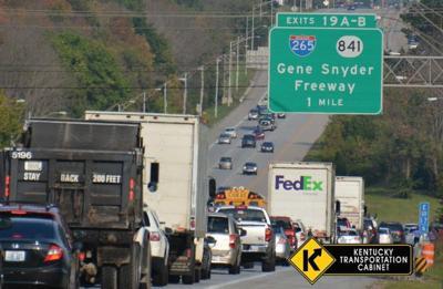 Ky. Transportation Cabinet picks design for reconstruction of I-64 and I-265 interchange