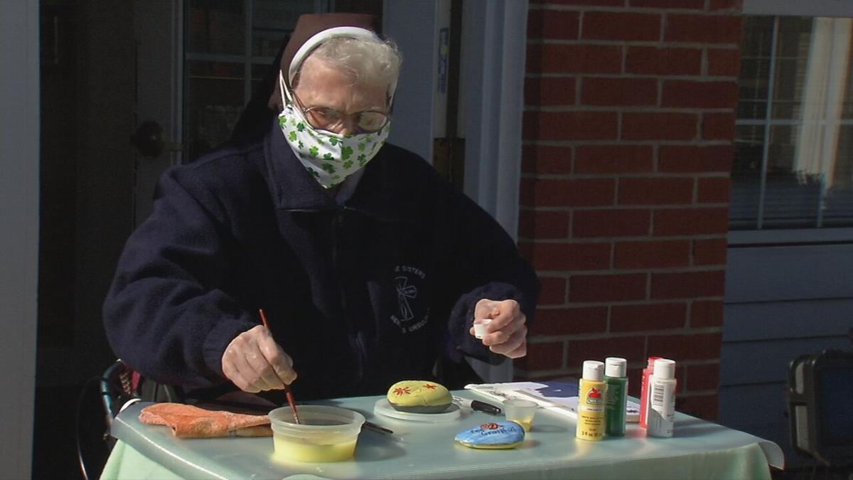 Nazareth Homes connects with community through painted rocks