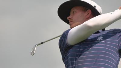Jared Wolfe about to start his PGA Tour dream