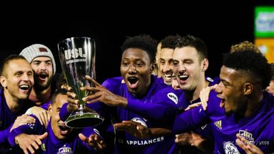 LouCity FC celebration