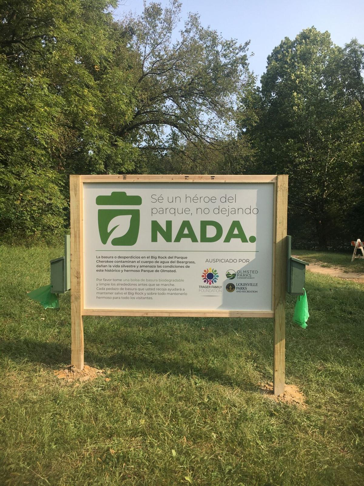 New Campaign Aims To Clean Up Cherokee Park S Big Rock News Wdrb Com